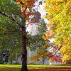 Eisenberger Schlosspark im Herbstkleid