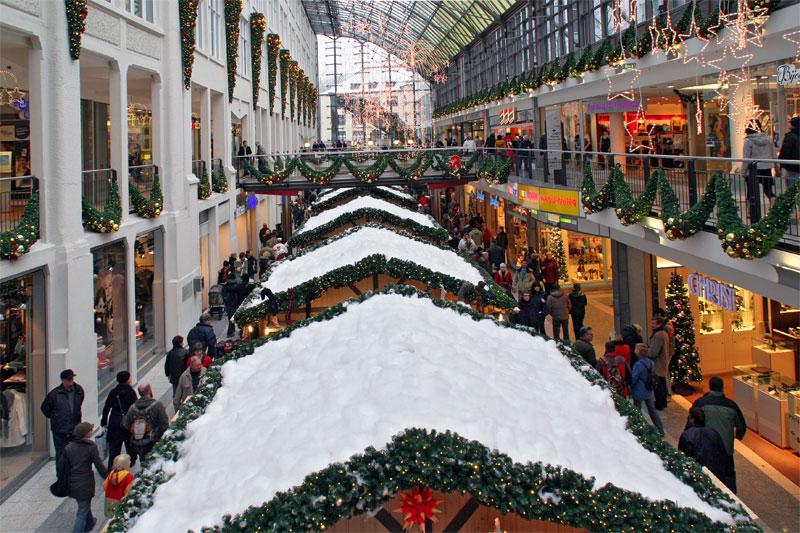 Weihnachtsmarkt in der Galerie